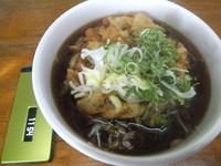 「特上かき揚げそば410円」@蕎麦の写真