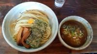 「豚骨魚介つけめん780円+大盛110円」@麺屋たつみ 大心の写真