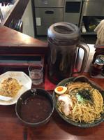 「本家田ぶしつけ麺&半麦飯チャーハン」@麺処 田ぶし 高円寺本店の写真