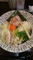 「濃厚玉子と比内地鶏の油そば  780円」@麺匠えにしの写真