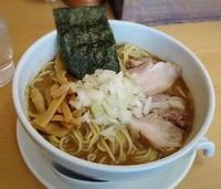 「煮干しそば 中750円」@煮干そば とみ田の写真
