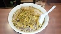 「志那竹チャーシュー麺+大盛」@名物屋の写真