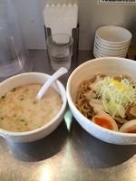 「塩つけ麺 特製 900円」@らーめん蟻塚の写真