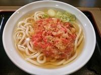 「選べる天ぷらうどん(紅しょうが)¥380」@えきめんや 品川店の写真