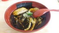 「黒醤油らーめん」@麺屋いろは まるひろ川越店 石川・富山・福井物産展の写真