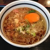 「朝そば(¥340)」@蕎麦 一心たすけ 日本橋店の写真