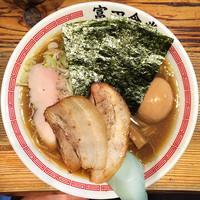 「特製中華そば(中)」@松戸中華そば 富田食堂の写真