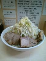 「ラーメン(ニンニク) 750円」@自家製ラーメン 大者の写真