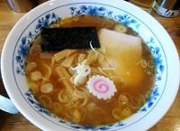 「ラーメン 並¥600+半チャン¥100」@和楽大勝軒の写真