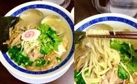 「ナイトゲリラー 汁・鶏清湯+ホンビノス塩860円」@丸直の写真