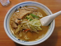 「肉揚げ味噌タンメン:860円」@テンホウ 塩尻店の写真