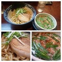 「【期間限定】台湾つけ麺(小盛)」@中華そば 旋の写真