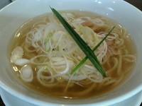 「いりこ塩」@手打ち麺 やす田の写真