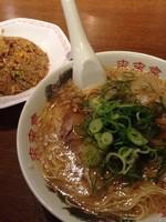 「チャーハン定食」@ラーメン 来来亭 東松山店の写真