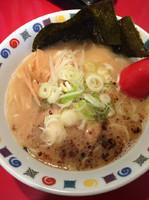 「とんこつ醤油、餃子、チャーシュー丼セット」@らーめん 市野々の写真