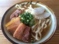「岸本そば(大)」@きしもと食堂 八重岳店の写真