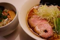 「醬油ラーメン+チャーシュー飯」@麺処 ほん田 東京駅一番街店の写真