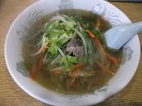 「タンメン(500円)」@中華料理 新三陽の写真