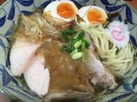 「鮪ラーメンⅡ【味玉サービス】(980円)」@麺こい・わの写真