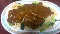 「インディアン・レギュラー+生野菜(500円+100円)」@ジャポネの写真