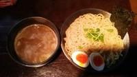 「まろ味つけ麺(大盛り)(あつもり)」@つけ麺 らーめん 研究所の写真