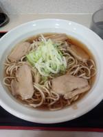 「鴨肉そば480円」@えきめんや 品川店の写真