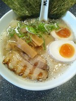 「味わいとんコクらぁめん(塩)」@つけ麺道 開花屋一貫 名古屋店の写真
