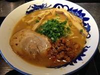 「FUBUKI味噌+ネギマヨ黒豚餃子+ライス」@麺匠 佐蔵 FUBUKIの写真