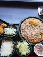 「納豆(冷・温玉、ネギ多め)\360+コロッケ(クーポン)」@ゆで太郎 人形町2丁目店の写真