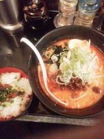 「Bセット(ランチ)\510」@担担麺 匠心の写真