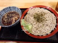 「鴨せいろ490円」@笠丸そば 御徒町店の写真