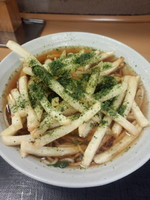 「ポテそば440円」@名代 富士そば 神田店の写真