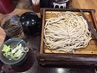 「二枚盛り蕎麦」@蕎麦 冷麦 嵯峨谷 池袋店の写真