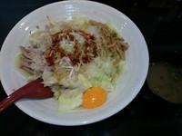 「まぜ麺(大)」@麺 GAKUの写真