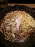 「たぬきそば(380円)」@十割蕎麦 さ竹の写真