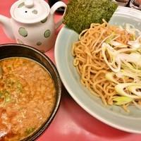 「えび醤油つけ麺(880円)」@ラーメン山岡家 仙台泉店の写真