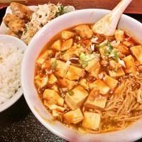 「麻婆麺セット(750円)」@金福の写真