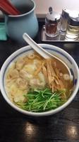 「塩ワンタン麺」@たけちゃんにぼしらーめん 府中店の写真