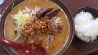 「北海道味噌野菜らーめん」@麺場 田所商店 札幌平岸店の写真