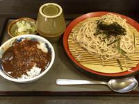 「ざる定食(570円)」@文殊 両国駅前店の写真
