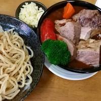 「【GW 限定】『も~した』Tバックでつけ麺です」@MENYA 食い味の道有楽の写真