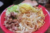 「塩野菜焼拉麺」@拉麺 阿吽の写真