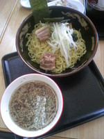 「つけ麺(中太玉子麺)780円」@らーめん 和弦の写真
