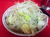 「小ラーメン(にんにく)」@ラーメン二郎 仙台店の写真