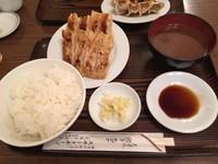 「餃子定食」@スヰートポーヅの写真