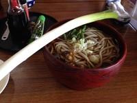 「ねぎそば」@三澤屋茶屋の写真