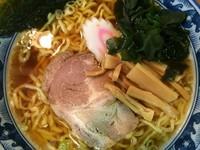 「正油らーめん(中太麺)780円 (大盛+100円)」@麺屋 せんりの写真