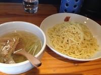 「梅塩つけ麺」@武将の写真
