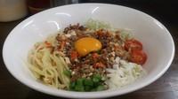 「【期間限定】タイ風まぜそば(辛さ1)」@麺屋庄太 津久井浜店の写真