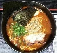 「海老スープカリーラーメン:850円」@奥芝商店 新宿タカシマヤ 初夏の大北海道展の写真